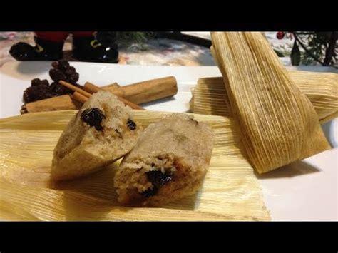 tamales dulces receta youtube