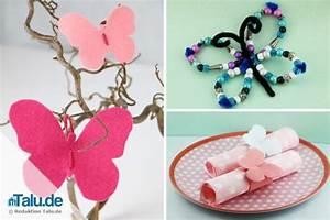 Schmetterlinge Basteln Zum Aufhängen : schmetterlinge mit kindern basteln einfache anleitungen ~ Watch28wear.com Haus und Dekorationen