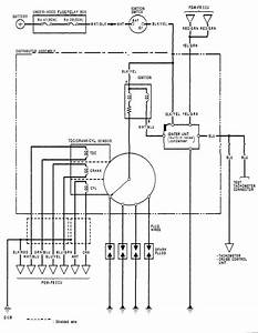 Wiring Diagram For The Ignition System - Honda-tech