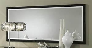 miroir rectangulaire de salle a manger design 140 cm laque With miroir de salle a manger rectangulaire