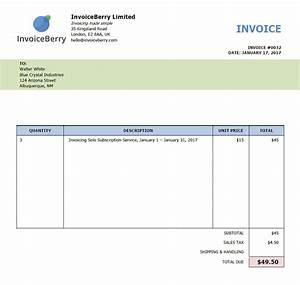What is an invoice and how can i make one invoiceberry blog for How to print invoice
