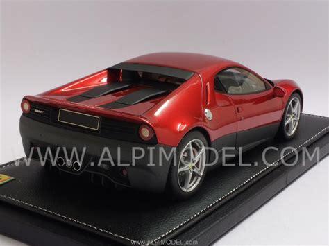 Bbr Ferrari Sp12 Ec 2018 Red Metallic 118 Scale Model
