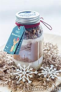 Idée Cadeau Cuisine : s o s brownie brownies dans un bocal cadeau gourmand ~ Melissatoandfro.com Idées de Décoration
