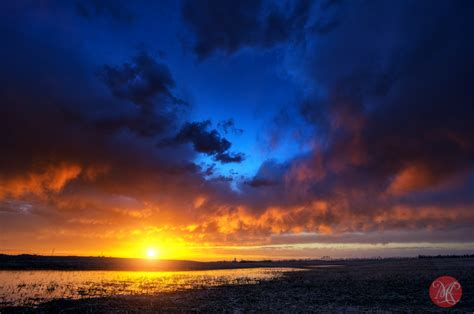 spring sunsets alberta landscape photography