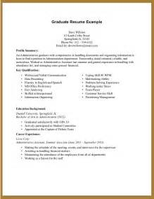 Resume Of by Experience Resume Template Resume Builder