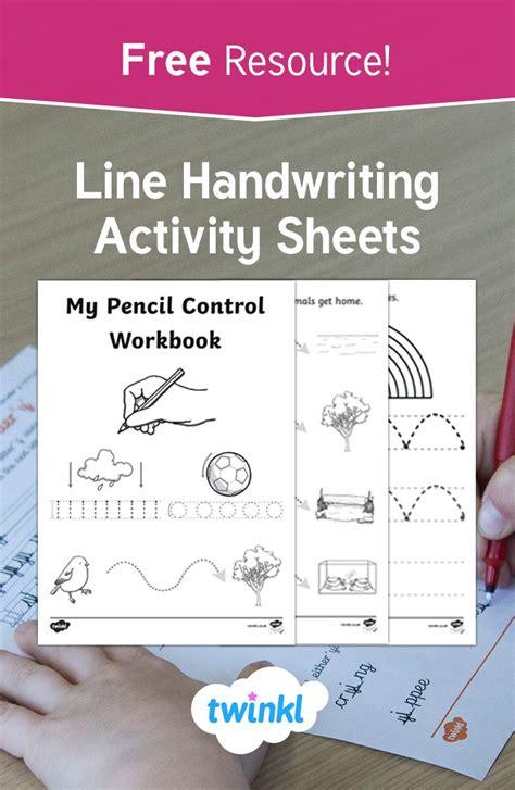 ks  handwriting activity sheets   handy resource