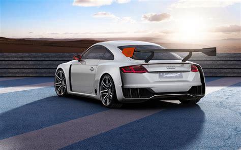2018 Audi Tt Clubsport Turbo Concept 3 Wallpaper Hd Car
