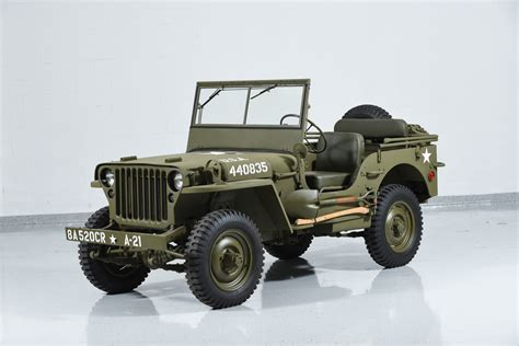 wwii jeep willys 1941 jeep willys mb military motorcar classics exotic