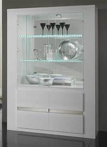 Ikea Bibliothèque Blanche : vitrine tania laque blanc blanc metal ~ Teatrodelosmanantiales.com Idées de Décoration
