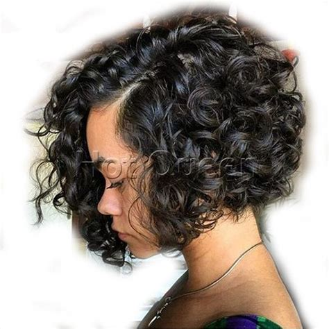 indian remy human hair short bob wavy full lace lace