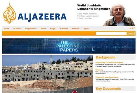aljazeera net mobile fuites de documents palestiniens al jazeera guardian