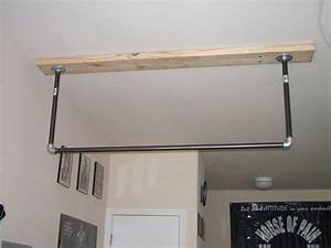 How to make your own pull-up bar - The Cathe Nation ...