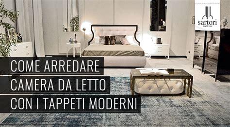 tappeti per camere da letto come arredare da letto con i tappeti moderni