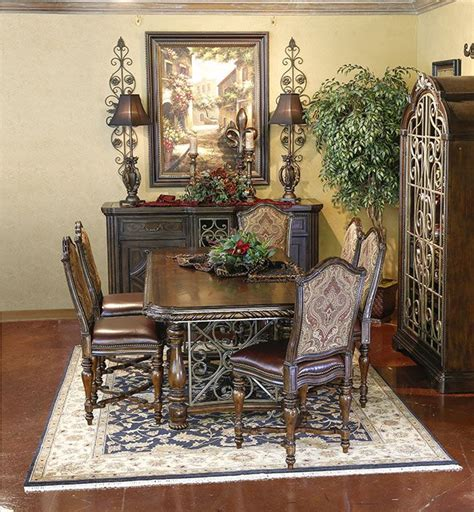 valencia gathering height dining tuscan furniture
