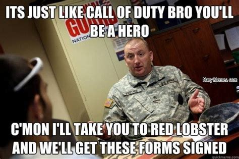 Army Recruiter Meme - national guard recruiters navy memes clean mandatory fun