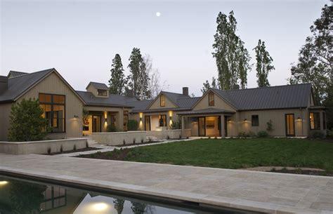 modern sonoma farm house architecture design building