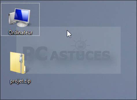 icones bureau windows 7 agrandir les icônes du bureau windows vista et windows 7