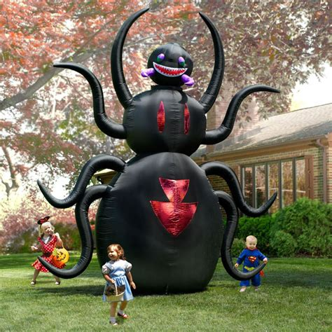Massive Inflatable Animated Spider   The Green Head