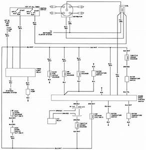 1989 Mazda B2000 Wiring Diagram