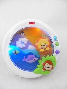 Fisher Price Precious Planet Baby Soother Toy Music Sound