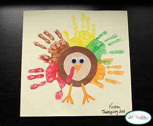 Preschool Crafts for Kids*: Thanksgiving Rainbow Handprint ...