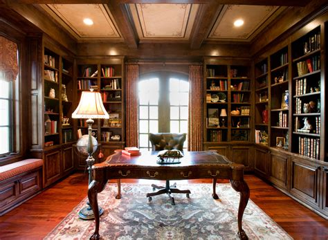 style home interior rustic style home office library interior ideas with
