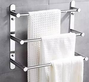 Handtuchhalter Für Dusche : 48cm l nge 304 edelstahl handtuch leiter handtuchhalter multifunktionale tuchst be f r ~ Indierocktalk.com Haus und Dekorationen