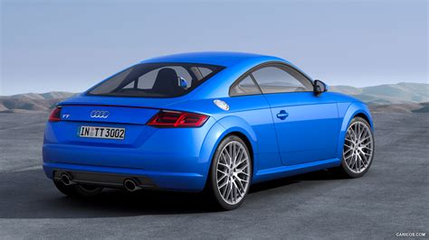 audi tt hardtop blue hd desktop wallpapers  hd