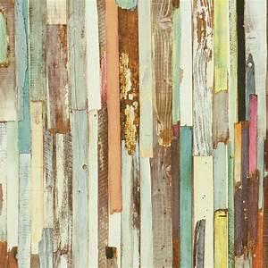 Tapete Holzoptik Bunt Tapeten Rasch Textil New Age 319919