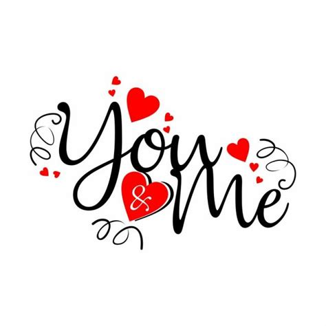you me valentines you me png and vector for free