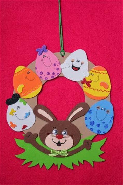 easter wreath craft idea  kids crafts  worksheets  preschooltoddler  kindergarten