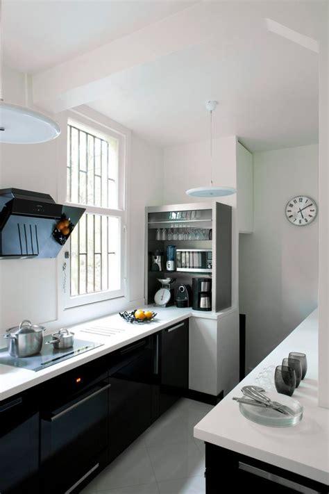 cuisine moderne noir et blanc cuisine des photos déco pour s 39 inspirer côté maison