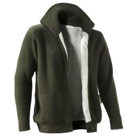 acheter veste de cuisine blouson fourré zippé maille anglaise homme du s au 3xl