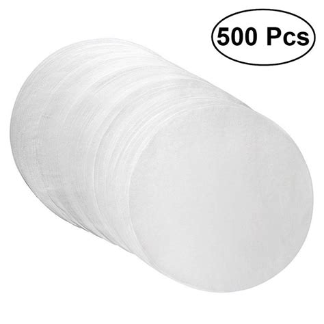 baking sheets cookie round paper safe temperature sheet bakeware 500pcs oiled papers