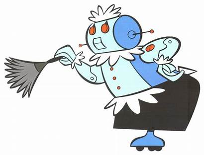 Jetsons Rosie Robot Cleaning Related