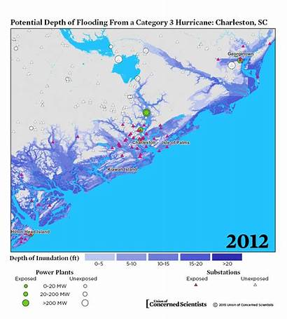 Surge Storm Lights Maps Energy Clean Blackouts