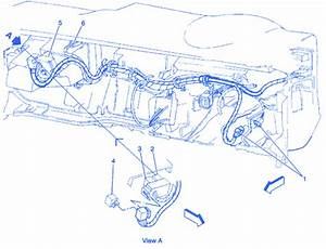 Opel Blazer 1996 Electrical Circuit Wiring Diagram