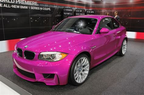 pink beamer sporty carsrims pinterest colors