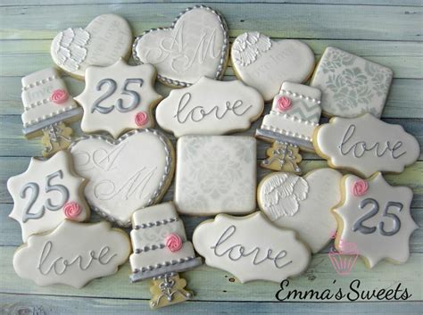 25 Best 25th Wedding Anniversary Cakes Ideas On Pinterest 25 Inside 25th Wedding Anniversary