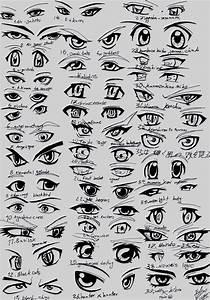 39 male anime eyes by eliantART on DeviantArt