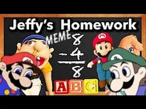 Jeffy Memes - ytp jeffy s meme homework youtube