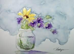 Watercolor Paintings by RoseAnn Hayes: Garden Flowers ...