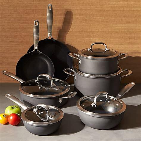 cookware non stick oxo piece pro crate crofton aldi barrel steel stainless costco dishes crateandbarrel houzz