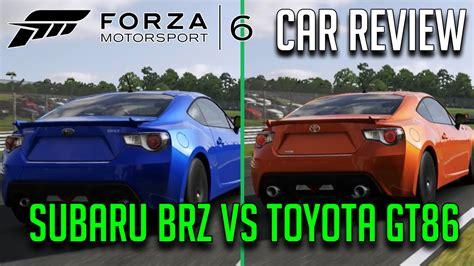 Forza 6 Car Review/comparison