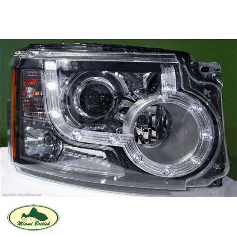 land rover headlight headl xenon hid w led rh lr4