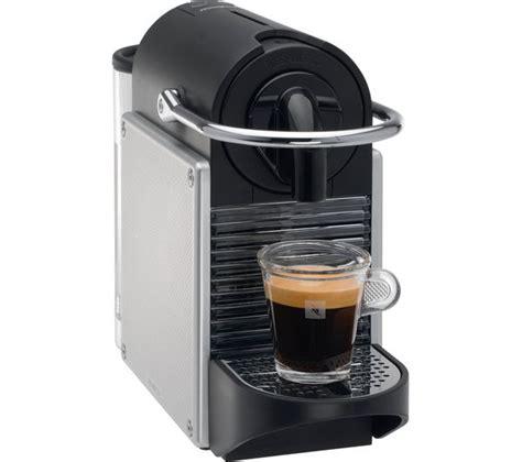 Machine Nespresso Magimix Buy Nespresso By Magimix Pixie 11323 Coffee Machine With Aeroccino Aluminium Free Delivery