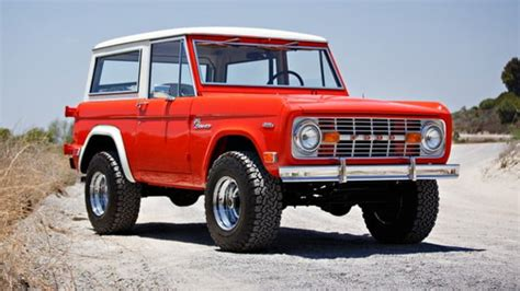 peep  perfectly restored  ford bronco