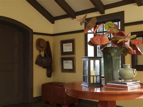 craftsman style homes interiors design a craftsman living room hgtv