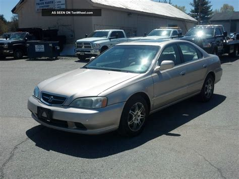 2000 acura tl 3 2l mechanic special