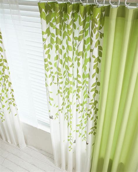 Lime Green Curtains by 4 Tips To Decorate Beautiful Window Curtains Interior Design